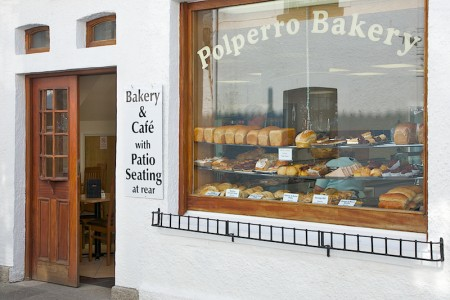 Front of Polperro Bakery