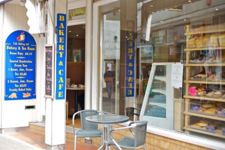 Palfreys Bakery in Looe