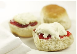 Cornsh cream tea for two