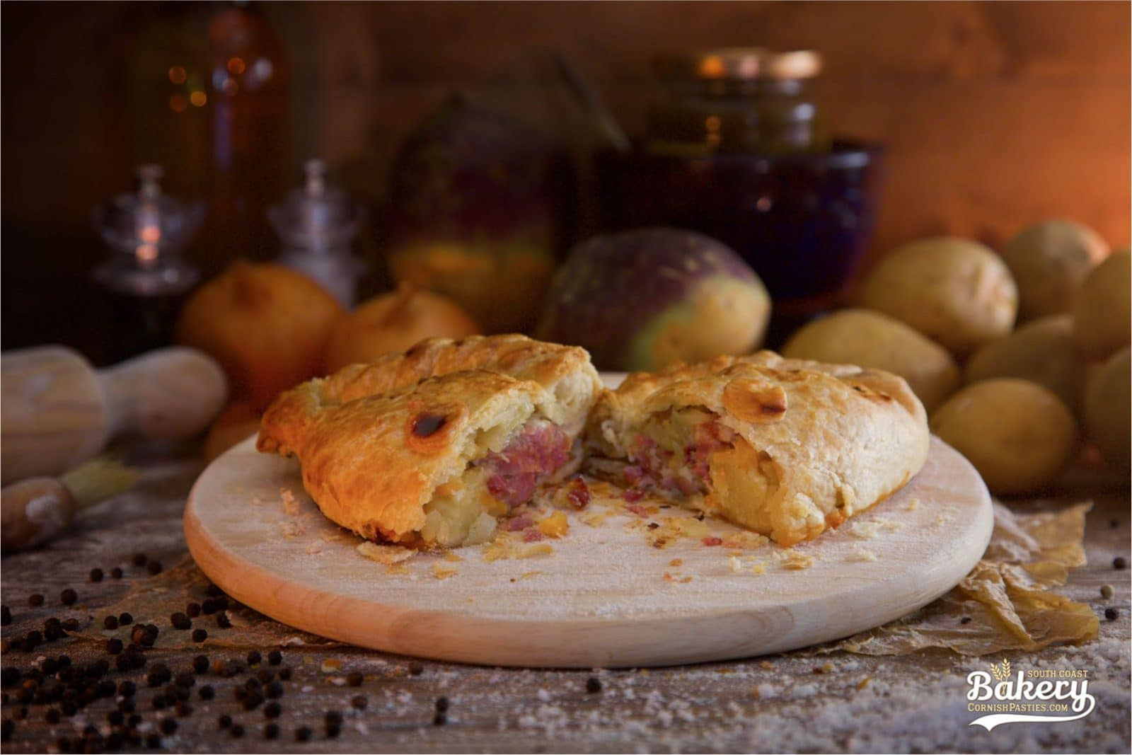 Cheese & Bacon Pasty - CornishPasties.com