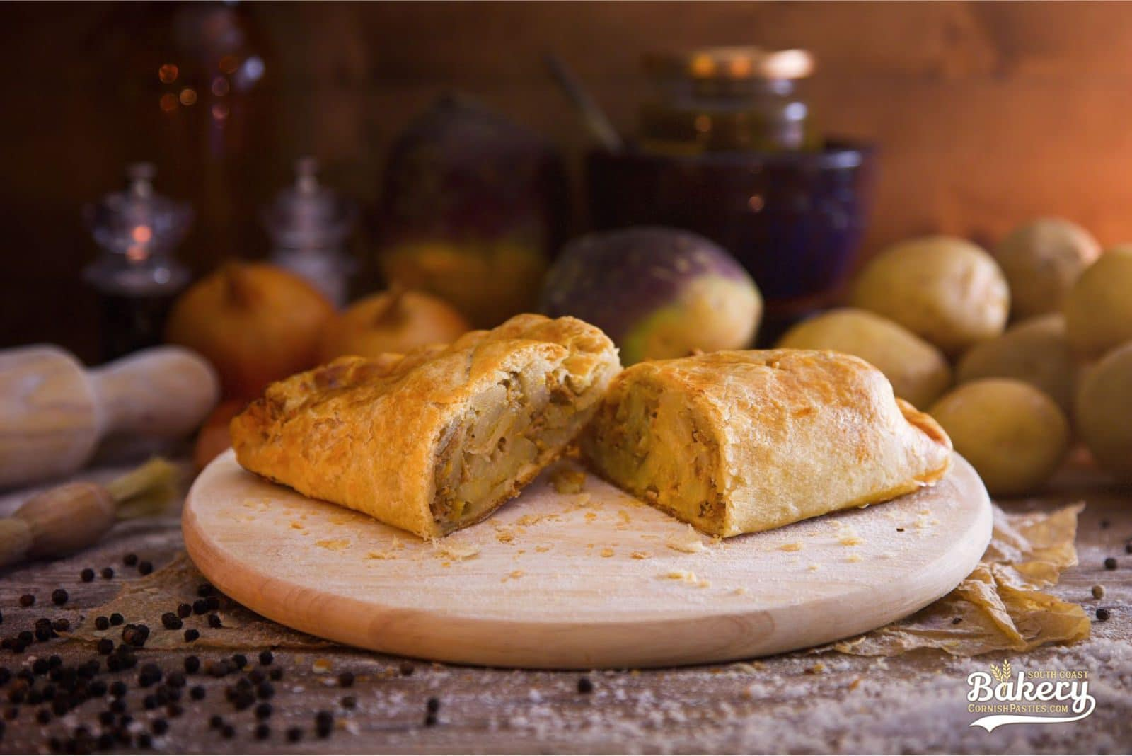 Lamb & Mint Pasty - CornishPasties.com