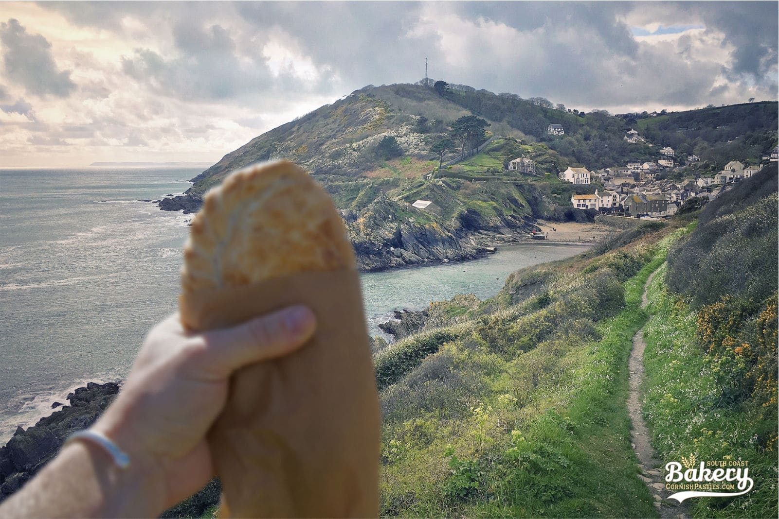 South Coast Bakery Polperro Coast Pasty