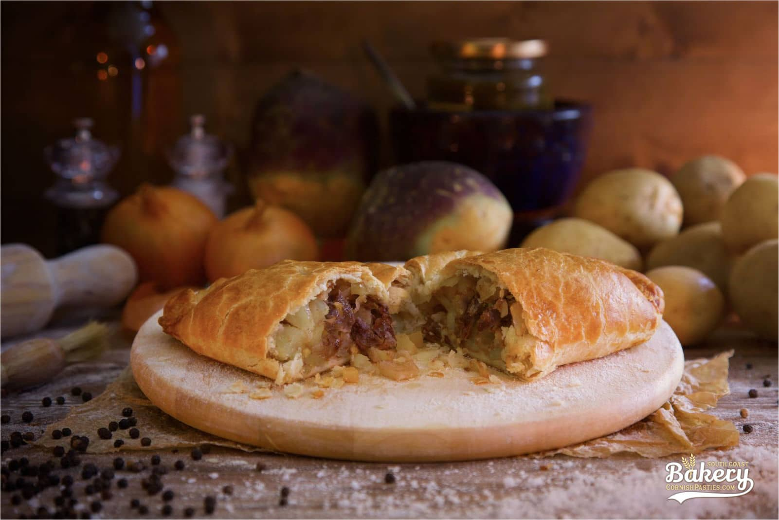 Steak Pasty - CornishPasties.com