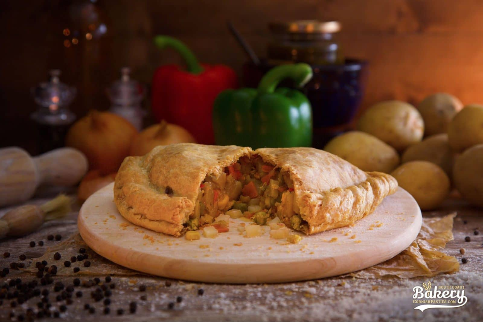 Vegetable Pasty - CornishPasties.com