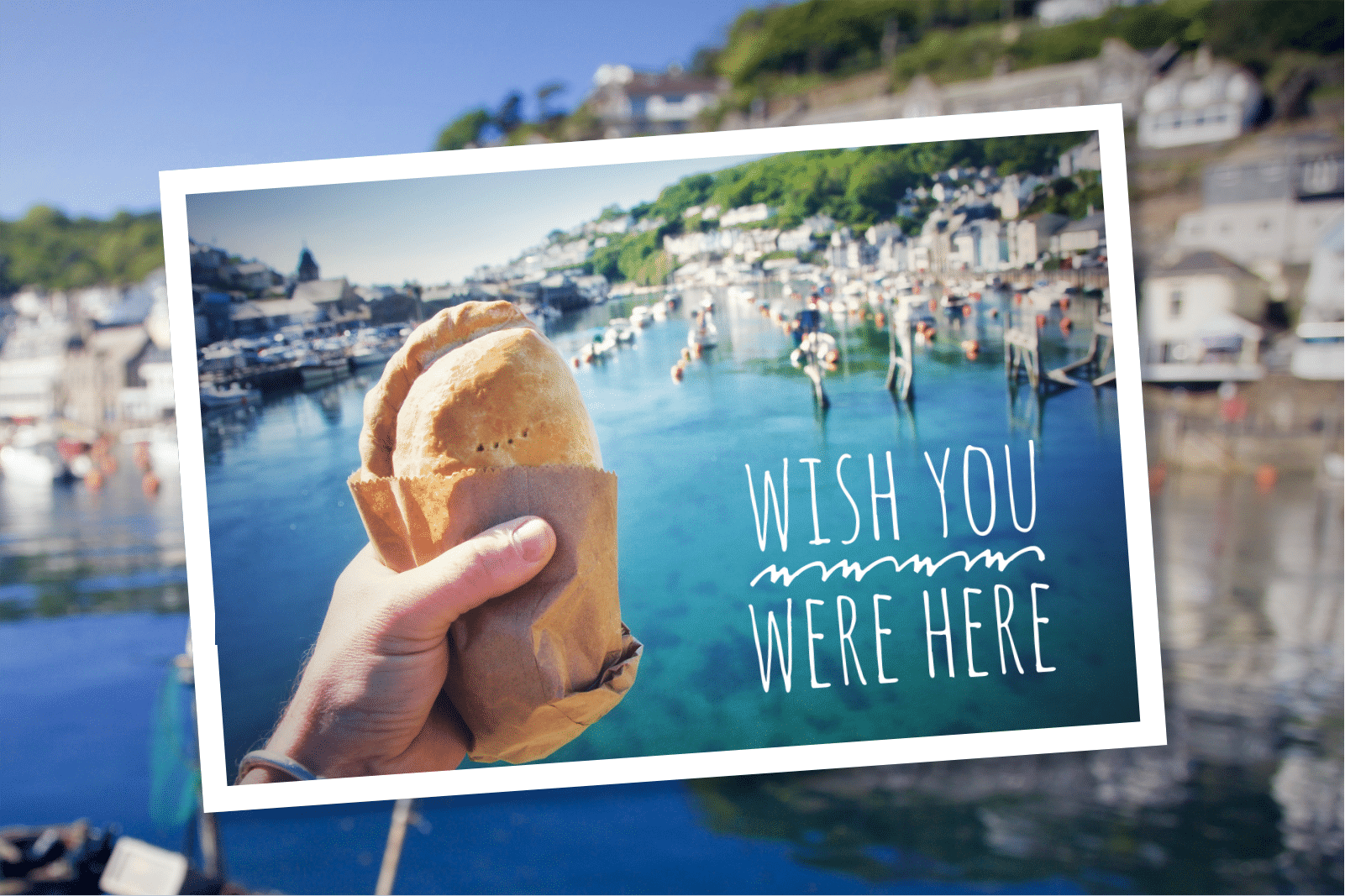 South Coast Bakery Wish You Were Here Postcard
