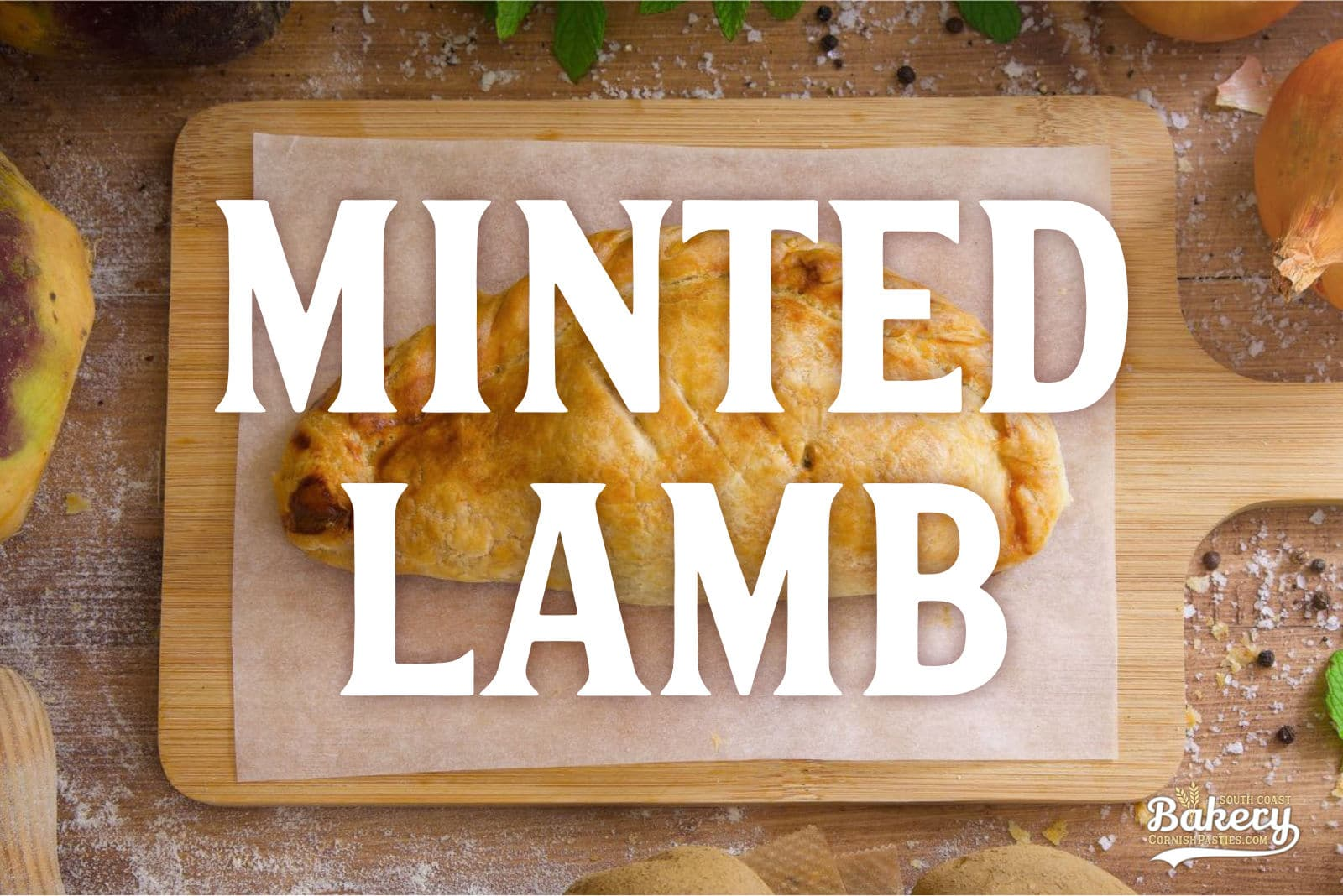 Minted Lamb Pasty