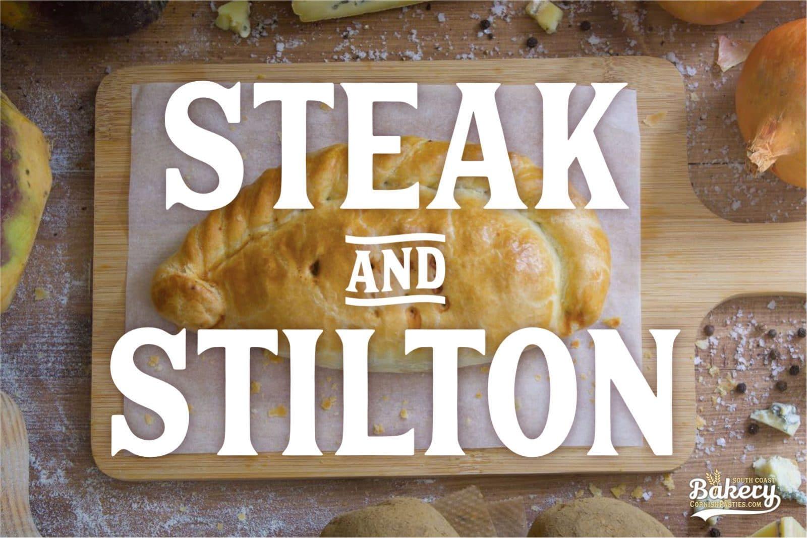 Steak and Stilton Pasty